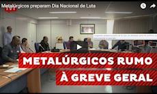 Metalúrgicos preparam Dia Nacional de Luta