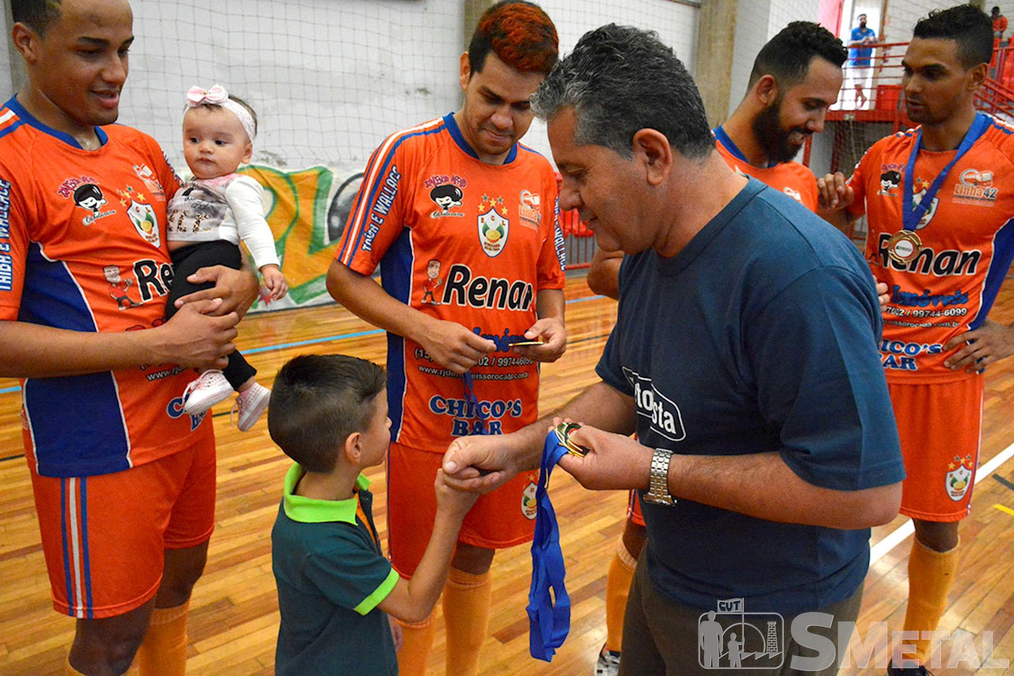 Laranjeiras Linha 42 - Campeões da 12ª Taça Papagaio de Futsal, ,