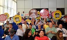 Centrais pedem que vereadores ajudem a barrar reformas de Temer