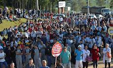 Ato contra reformas de Temer reúne mais de 4 mil em Sorocaba