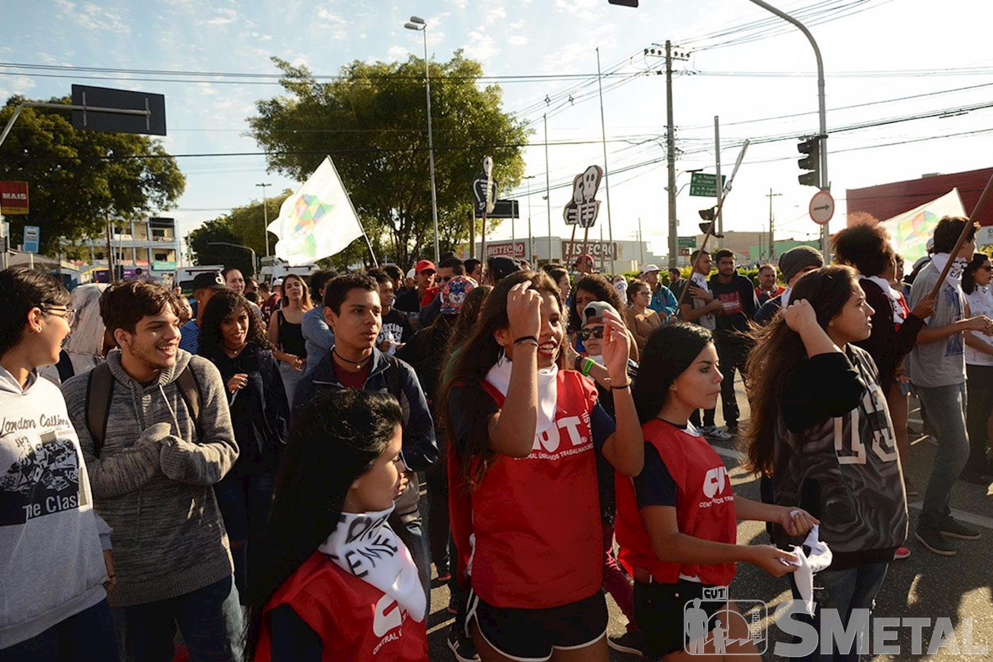 Greve Geral em Sorocaba, greve, geral, sorocaba, , Foguinho e Gabriela Guedes/Imprensa SMetal