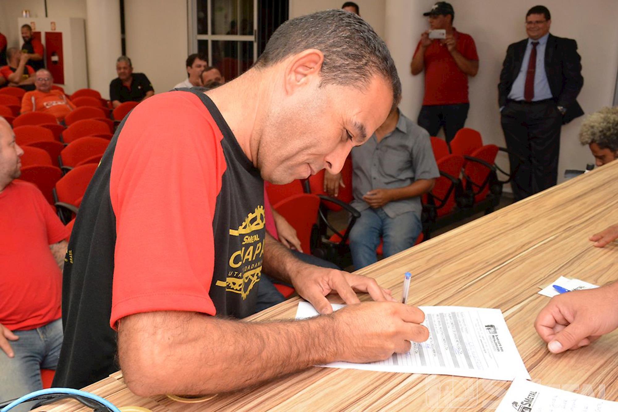 Posse da diretoria do SMetal, em Brasília, posse, smetal, diretoria, brasília, direção, leandro, sindicato, Foguinho/Imprensa SMetal