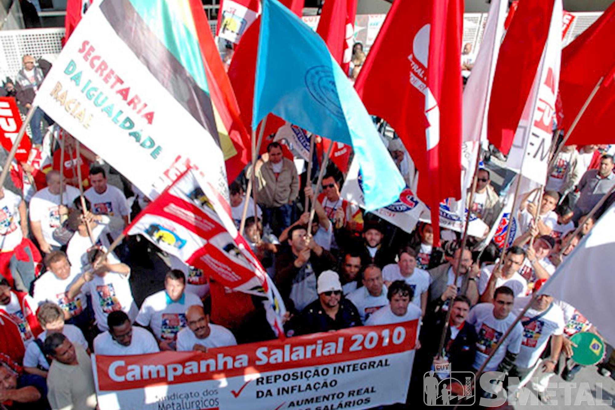 Entrega da pauta da Campanha Salarial 2010