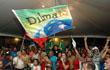 Comemoração da eleição de Dilma como presidenta do Brasil