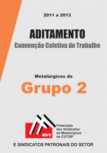 Aditamento à Convenção Coletiva - Grupo 2 2012