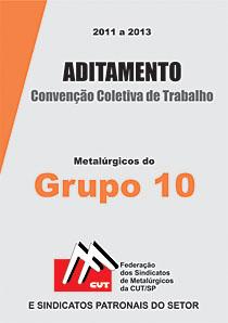 Aditamento à Convenção Coletiva - Grupo 10