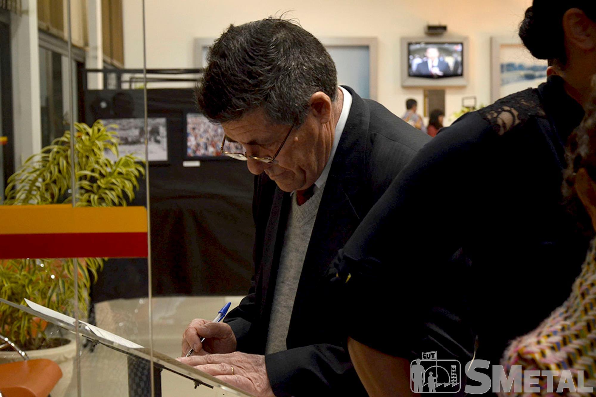 Ex-diretor do Sindicato dos Metalúrgicos de Sorocaba e Região,  o deputado estadual Hamilton Pereira (PT) foi um dos homenageados, Sessão Solene na Câmara de Sorocaba comemora 30 anos de CUT