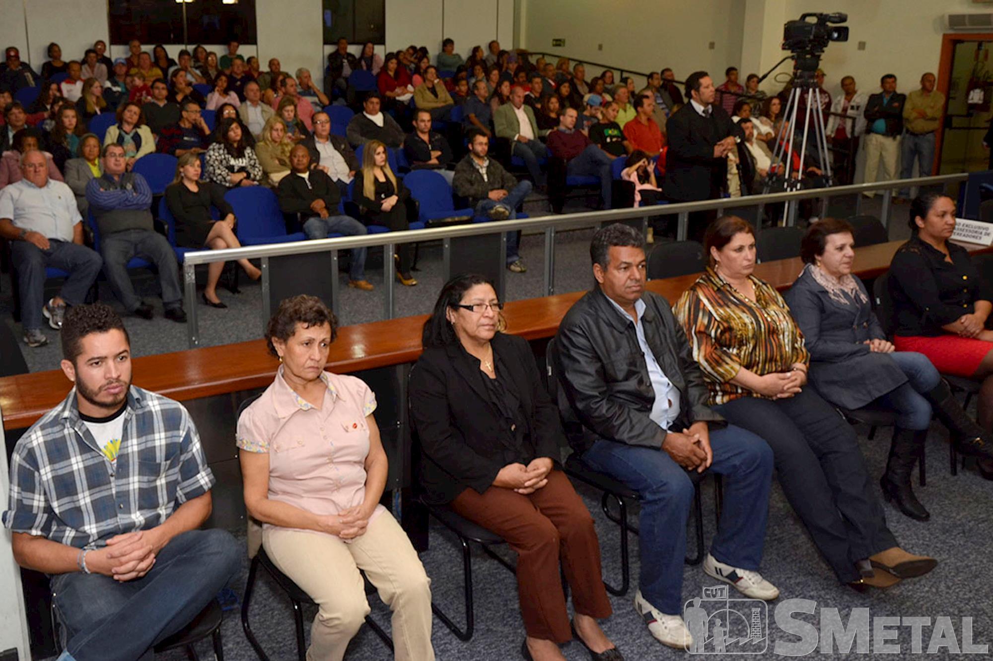 Além de homenagens a sindicalistas,  solenidade teve apresentação de vídeo sobre a Central Única dos Trabalhadores, Sessão Solene na Câmara de Sorocaba comemora 30 anos de CUT