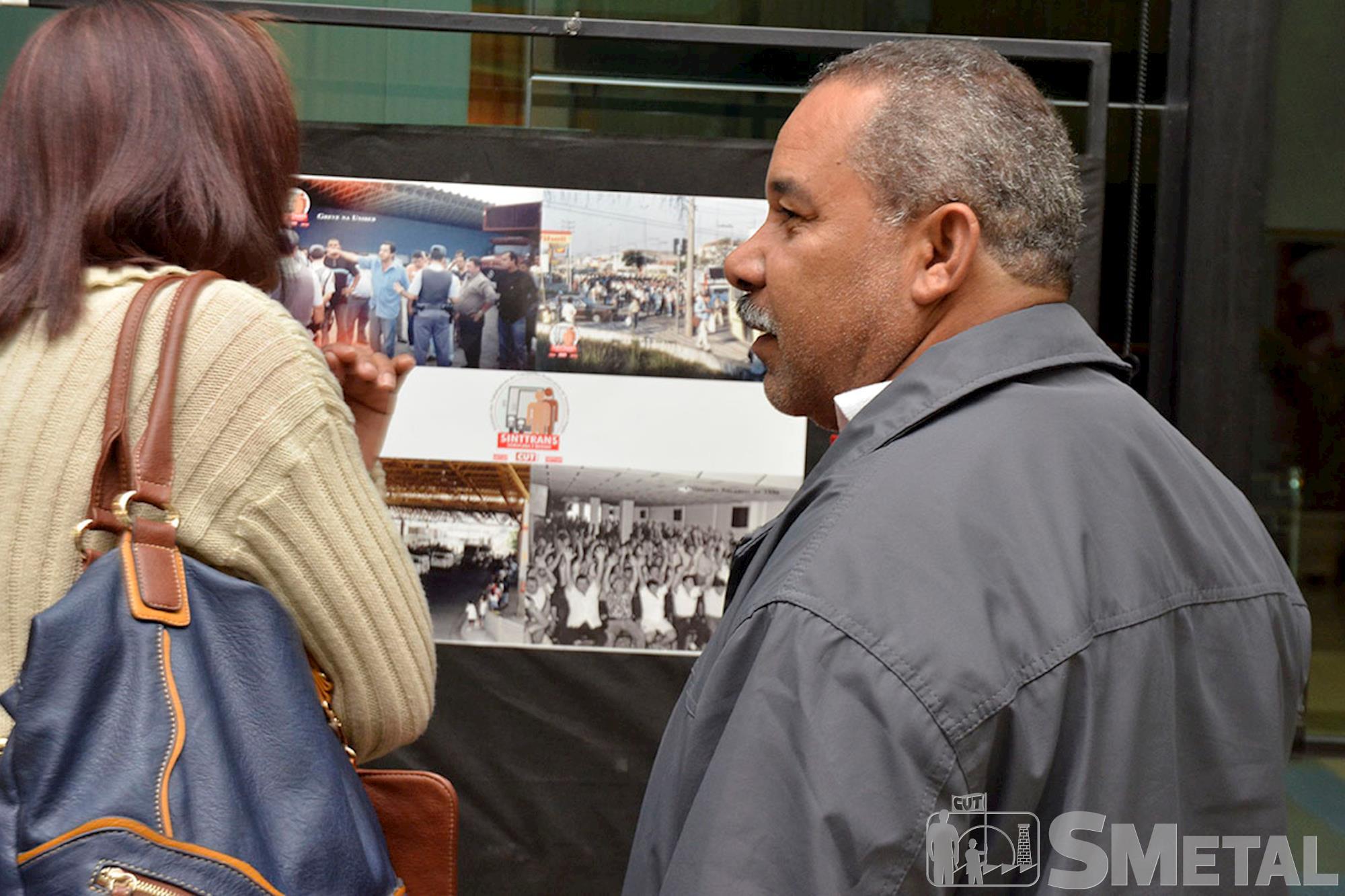 Após solenidade,  público conferiu exposição com fotografias marcantes da CUT na região de Sorocaba, Sessão Solene na Câmara de Sorocaba comemora 30 anos de CUT
