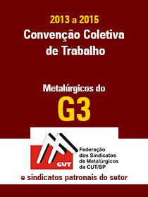 Convenção Coletiva 2013 - G3