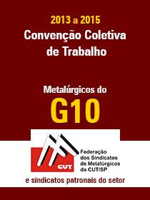 Convenção Coletiva 2013 - G10