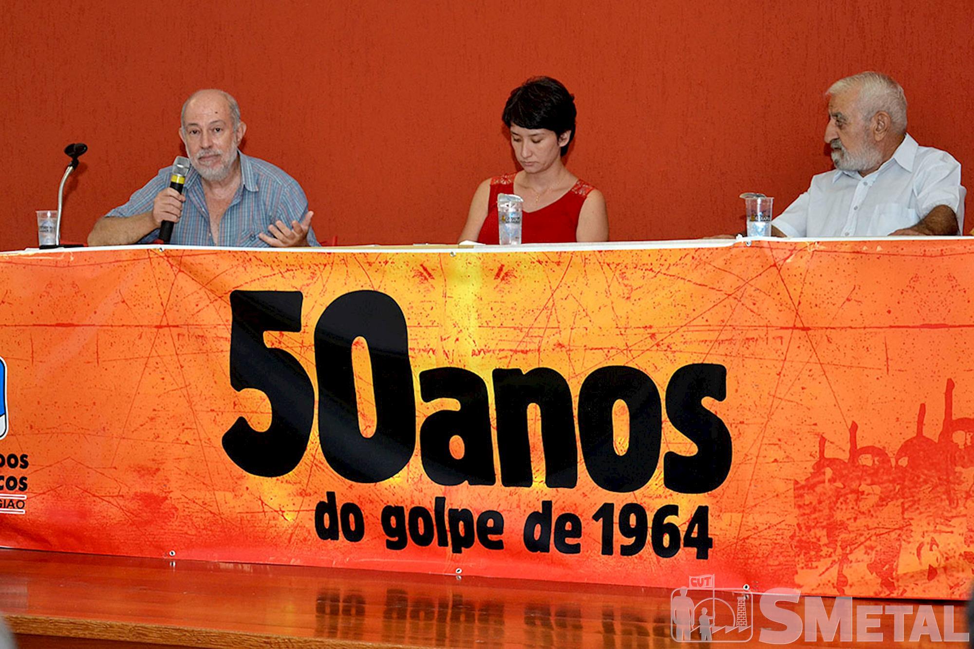 Debate: 50 anos do golpe de 1964