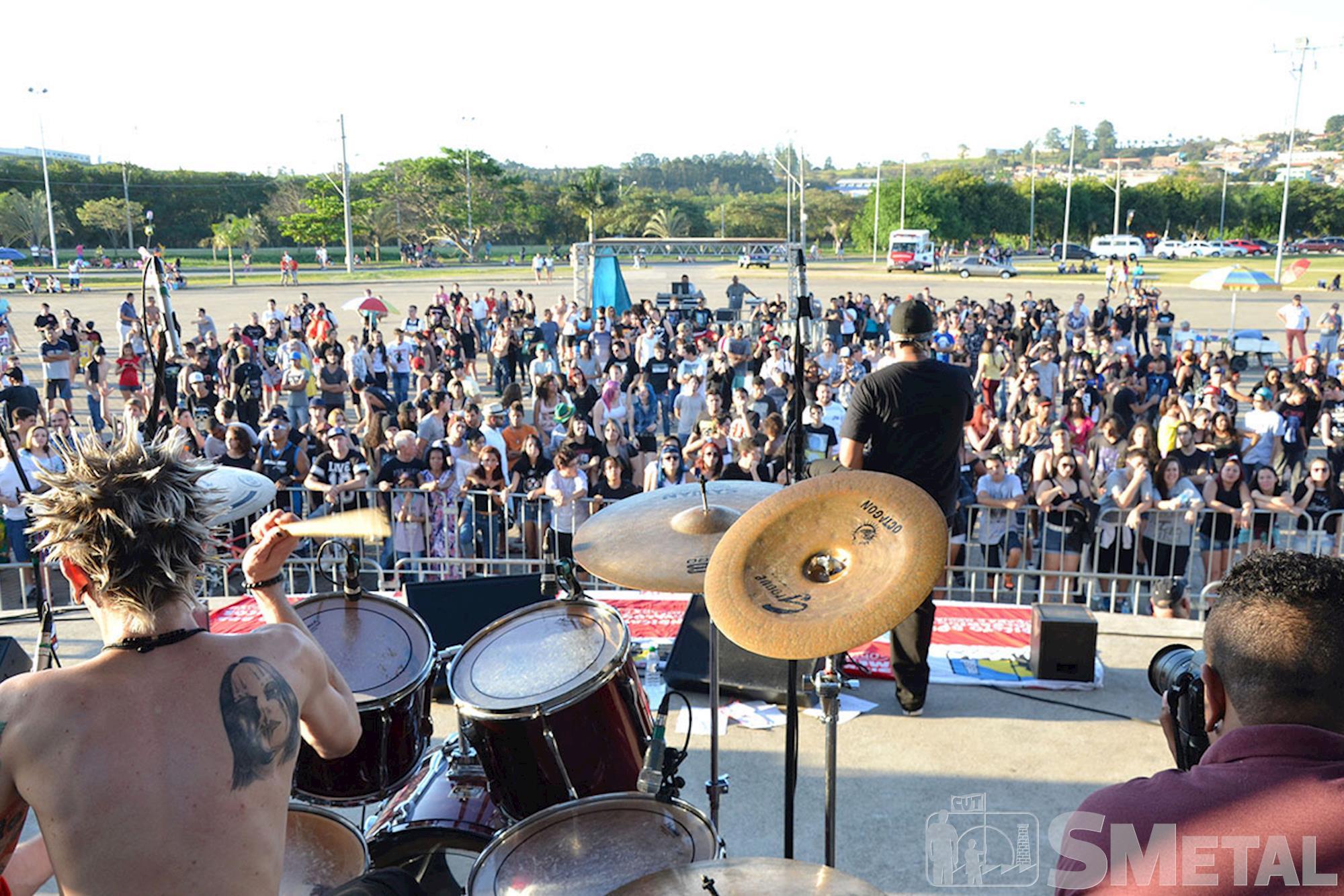 Confira as fotos da 10ª edição do Rock dos Metalúrgicos