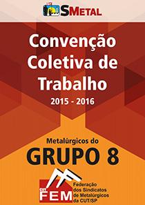 Convenção Coletiva 2015 - Grupo 8