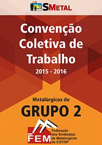 Convenção Coletiva 2015 - Grupo 2