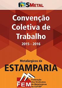 Convenção Coletiva 2015 - Estamparia