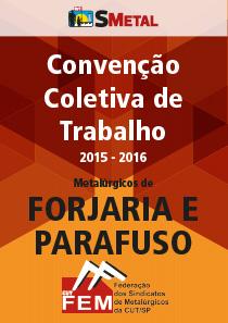 Convenção Coletiva 2015 - Fojaria e Parafuso