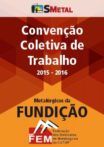 Convenção Coletiva 2015 - Fundição