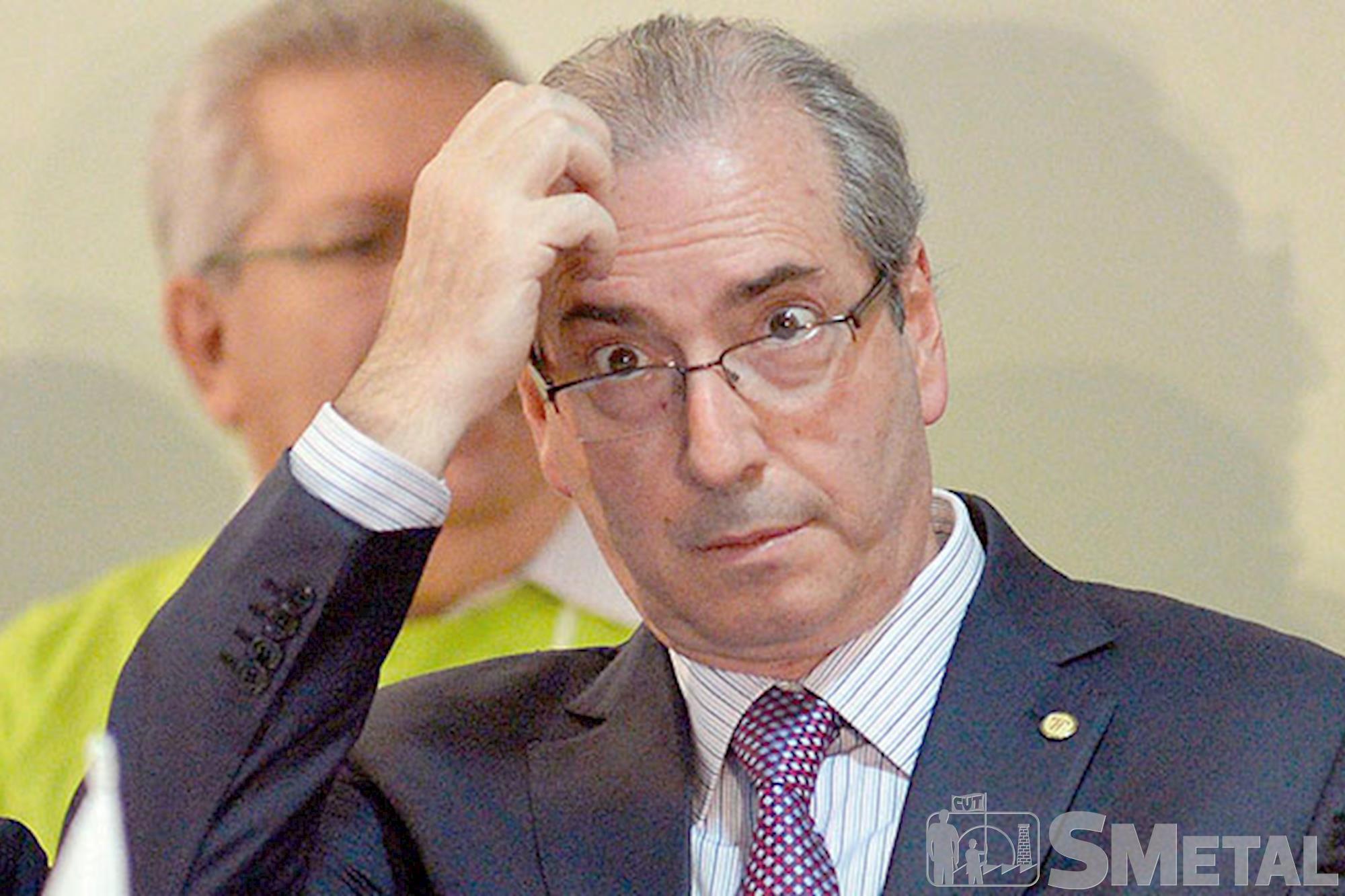 Deputado Federal: Eduardo Cunha, Quatro políticos do PMDB receberam pedido de prisão