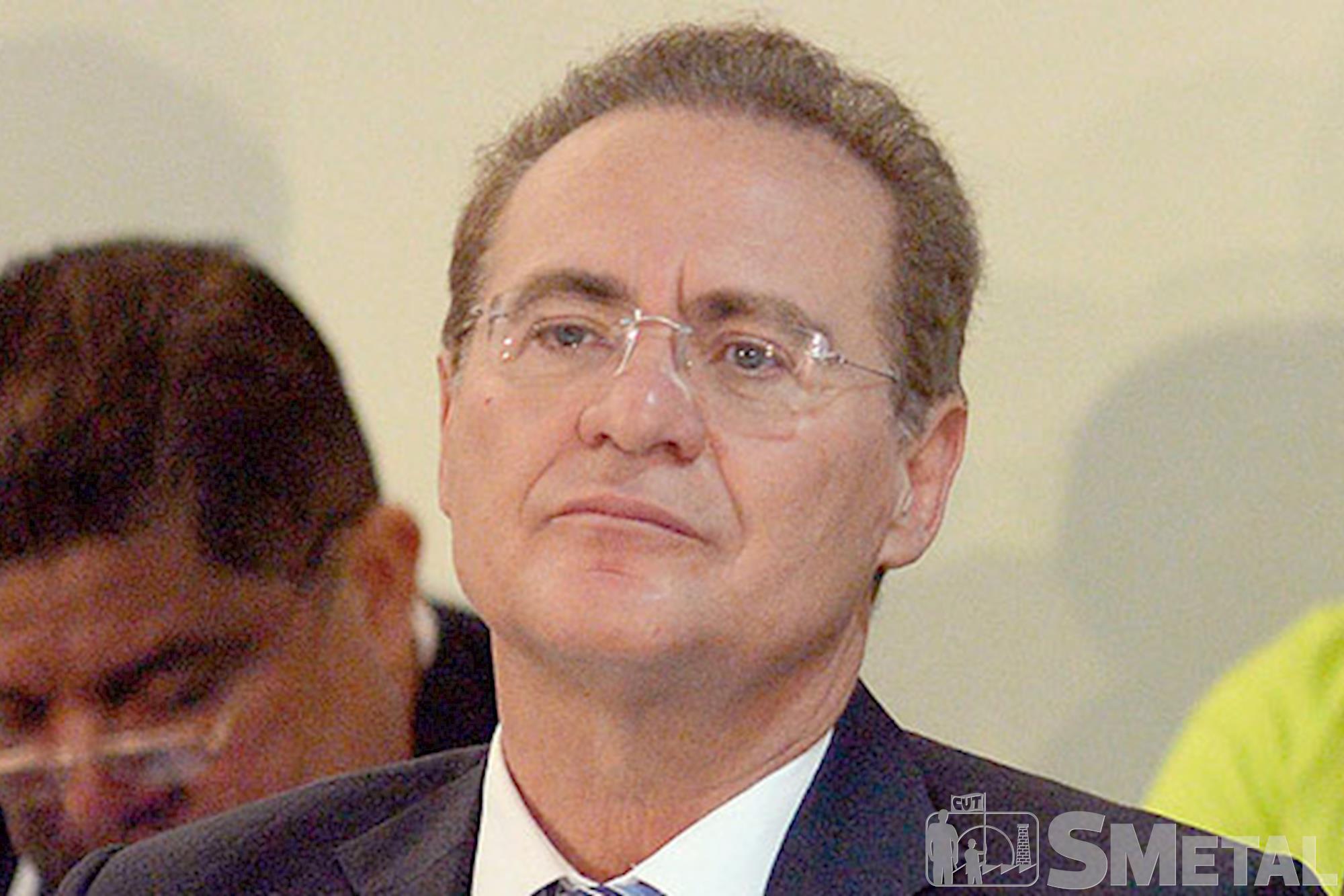 Presidente do Senado: Renan Calheiros, Quatro políticos do PMDB receberam pedido de prisão
