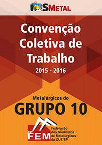 Convenção Coletiva 2015 - Grupo 10