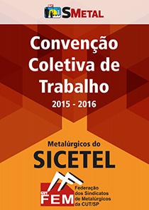 Convenção Coletiva 2015 - Sicetel