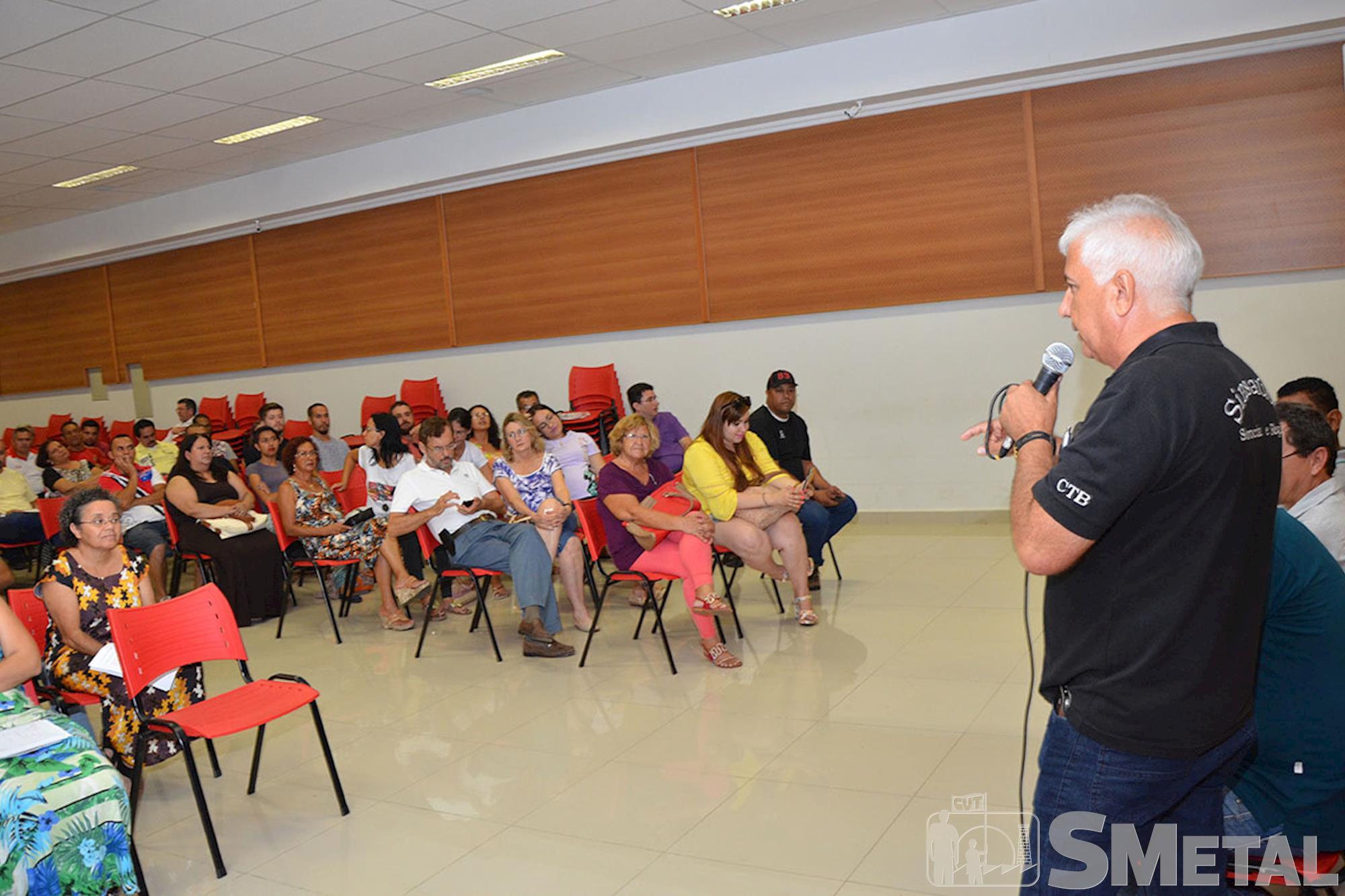 Lideranças de Sorocaba participam de ato contra o impeachment dia 16