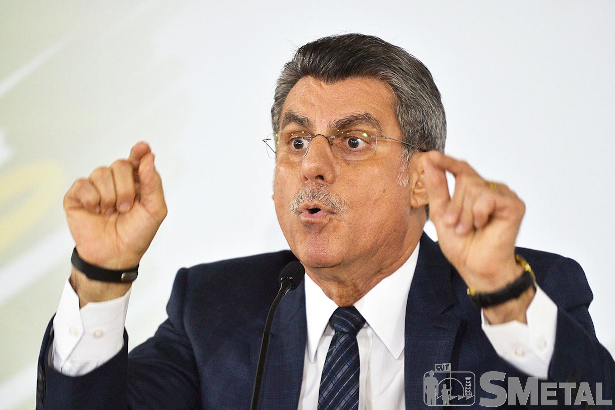 Senador: Romero Jucá, Quatro políticos do PMDB receberam pedido de prisão