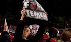 Ato 'Fora Temer' reúne 100 mil pessoas na Paulista