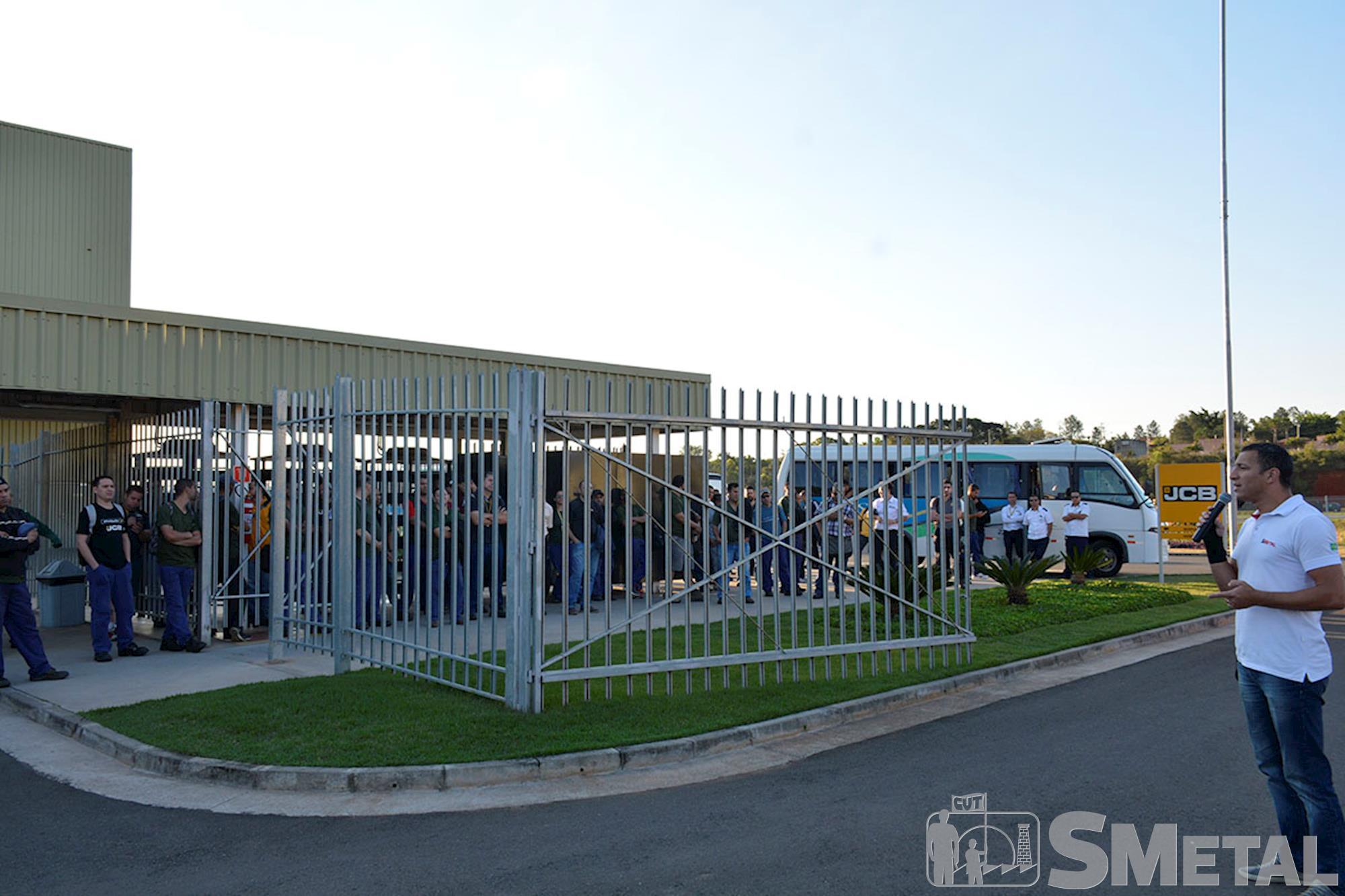 SMetal realiza mobilizações em mais duas fábricas