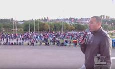 Dia de paralisação dos trabalhadores em Sorocaba