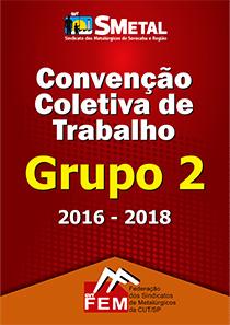 Convenção Coletiva 2016/2018 - Grupo 2