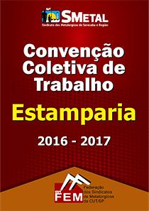 Convenção Coletiva 2016 - Estamparia