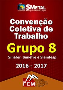 Convenção Coletiva 2016 - Sinafer/Simefre/Siamfesp