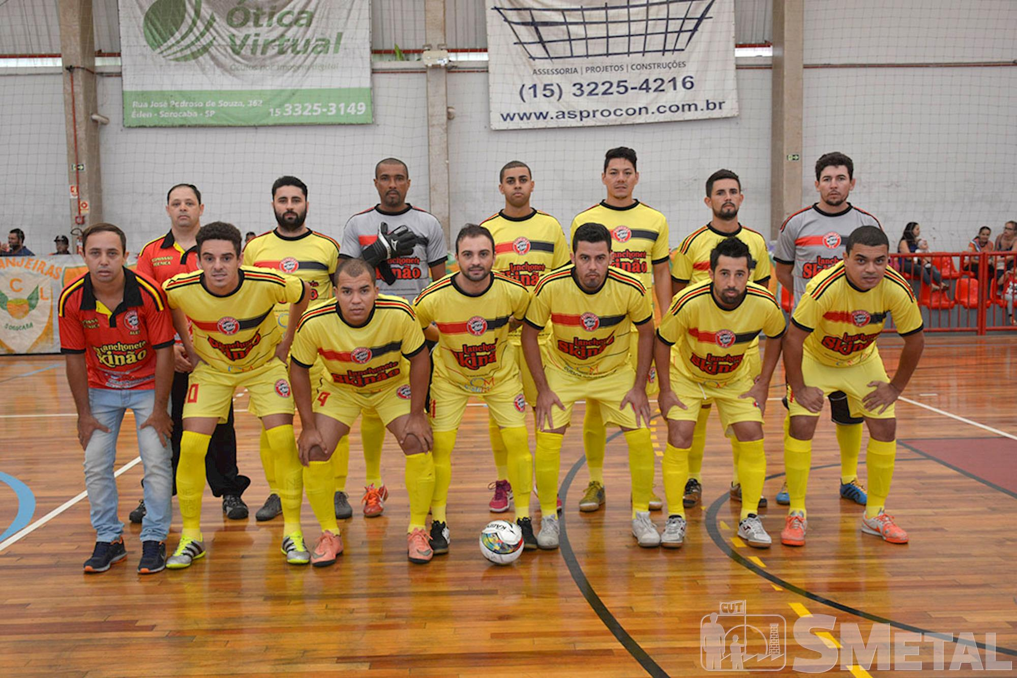 Equipe vice-campeã Lanchonete Skinão, Final da 12ª Taça Papagaio do SMetal
