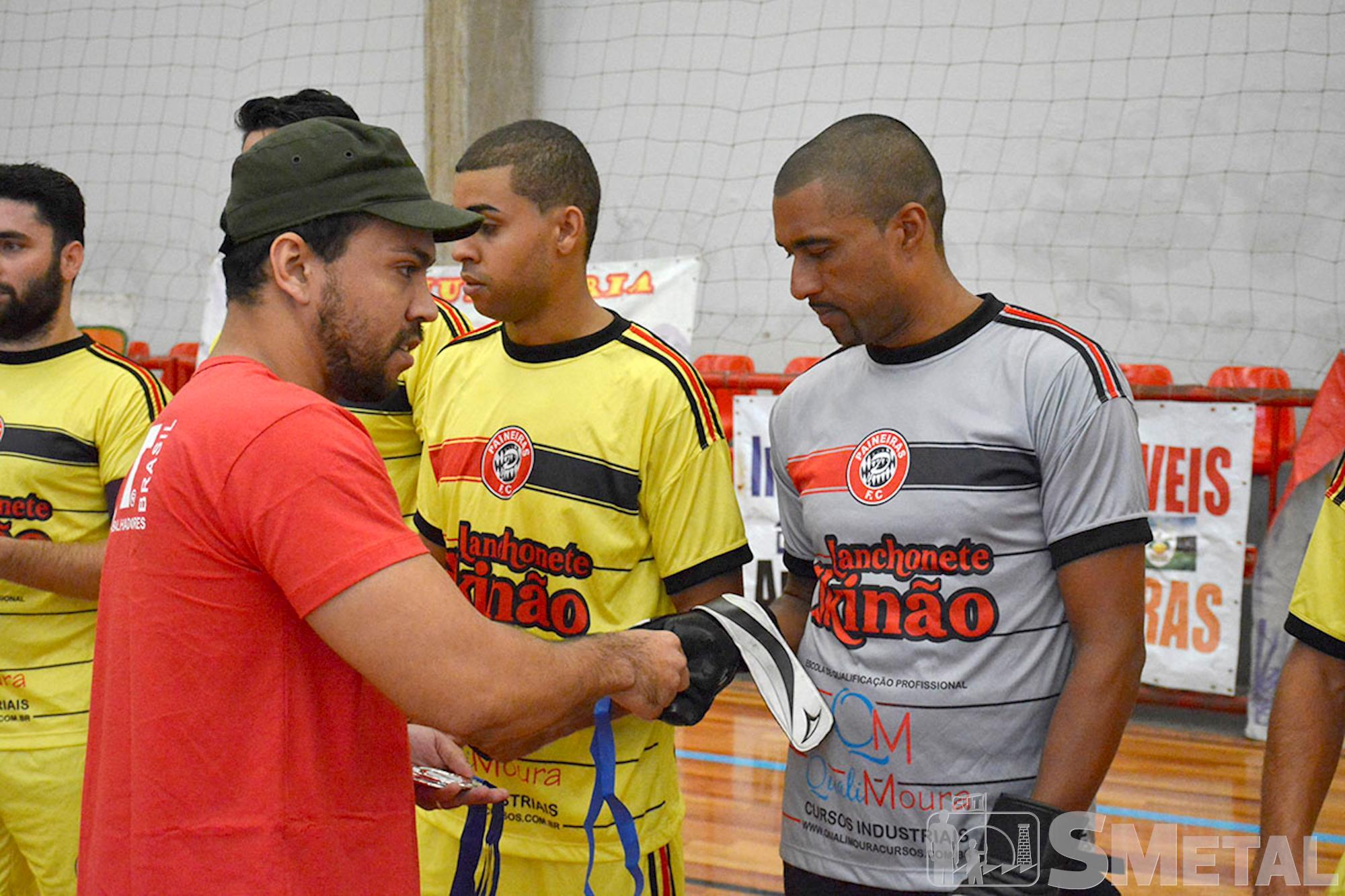 Equipe Lanchonete Skinão,  vice-campeã da 12ª Taça Papagaio de Futsal, Final da 12ª Taça Papagaio do SMetal