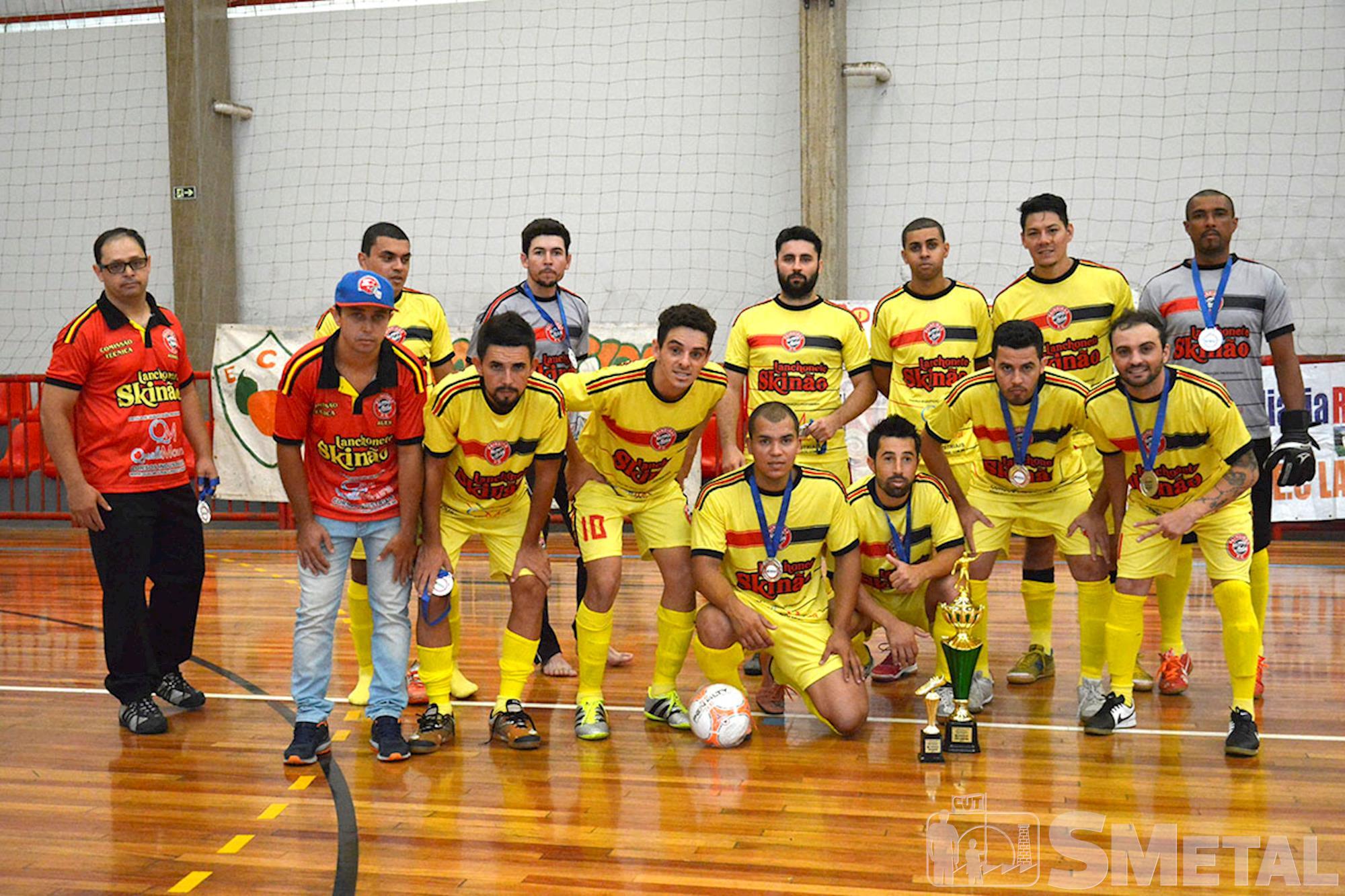 Equipe vice-campeã da 12ª Taça Papagaio,  Lanchonete Skinão, Final da 12ª Taça Papagaio do SMetal