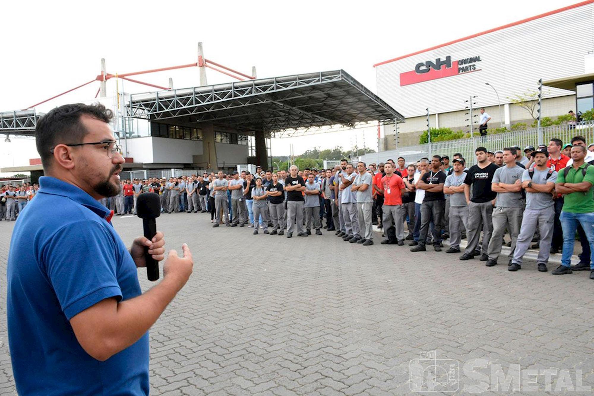 Mais seis fábricas têm mobilização contra a Reforma da Previdência