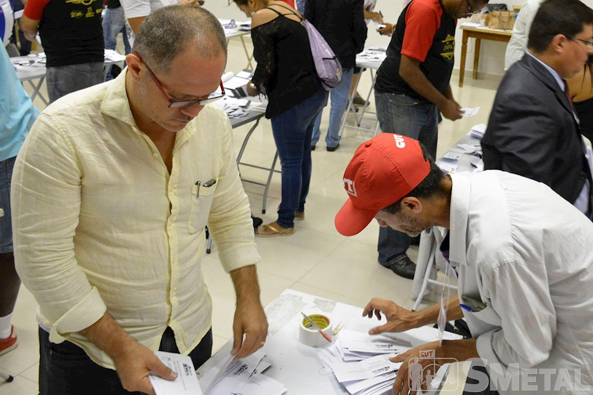 Primeiro turno das eleições do SMetal Sorocaba