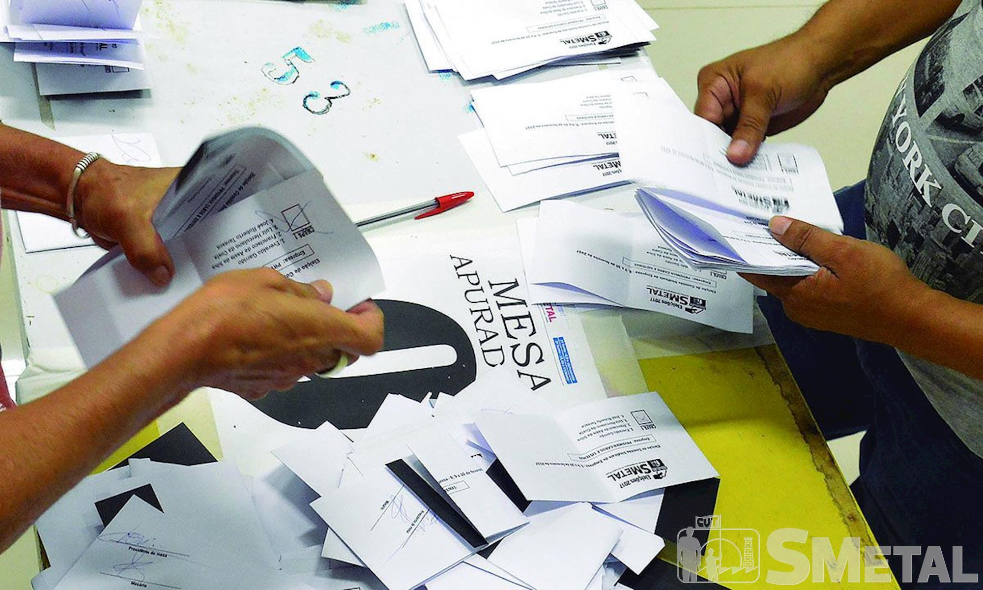 SMetal, Eleição, Votos,