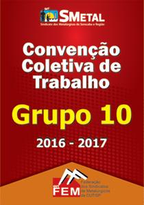 Convenção Coletiva 2016 - Grupo 10