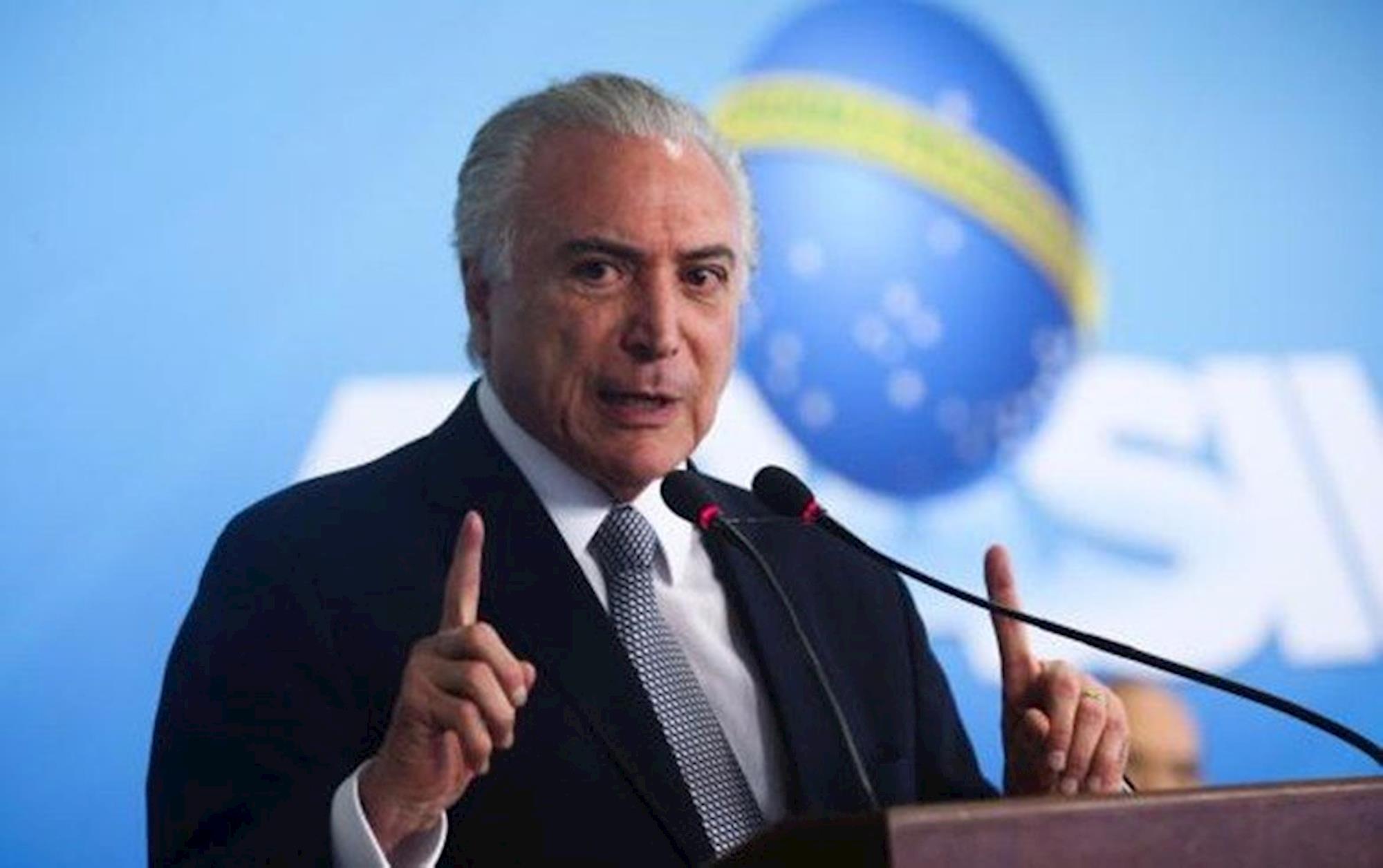 Michel, Temer, PMDB, Antonio Cruz / Agência Brasil