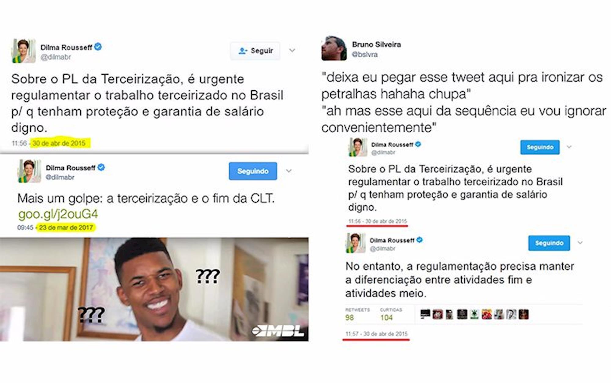 Dilma, Divulgação