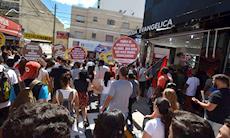 Mil pessoas participam de ato contra reformas de Temer em Sorocaba