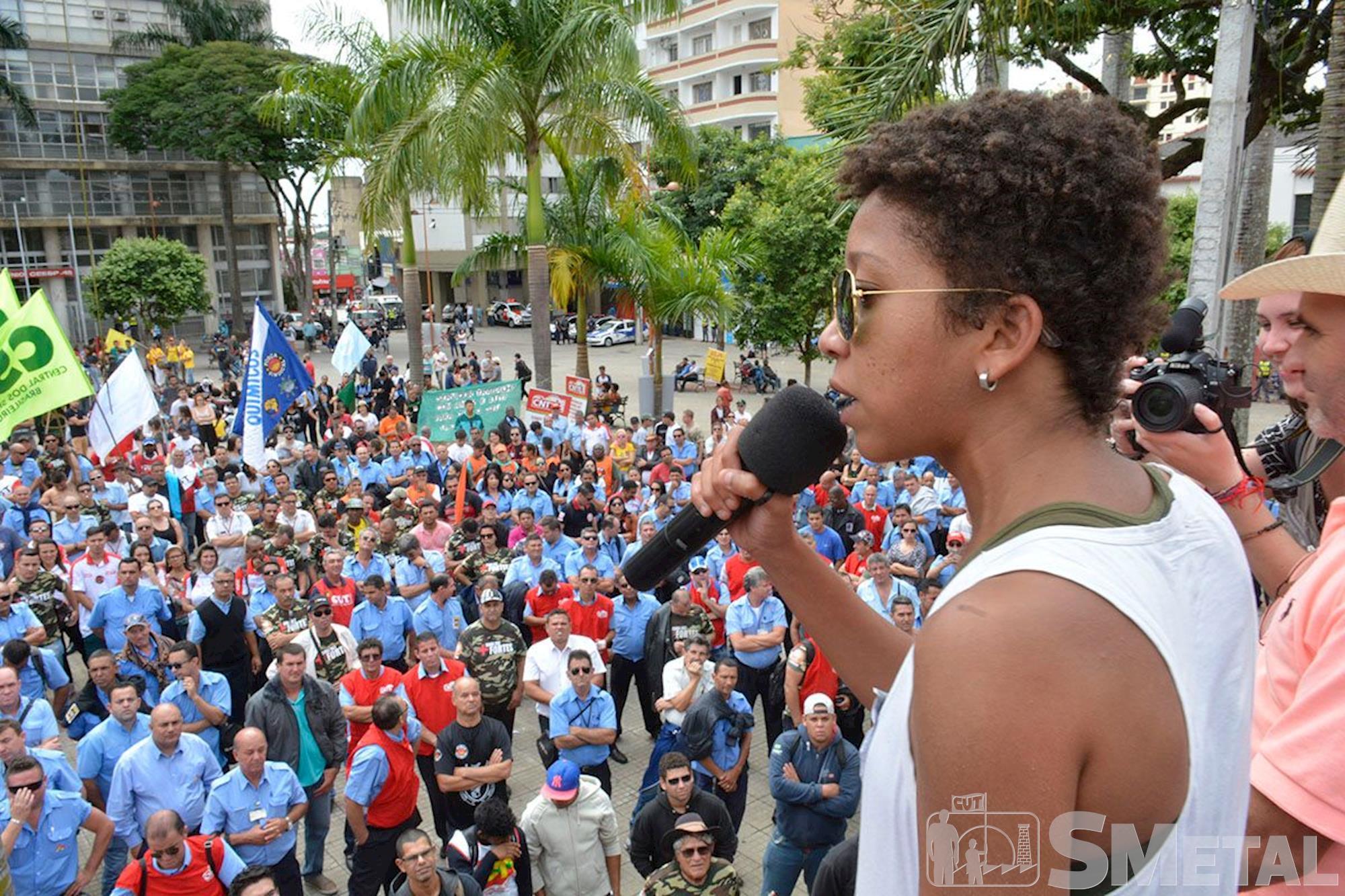 Greve Geral em Sorocaba, greve,  geral,  sorocaba,  , Foguinho e Gabriela Guedes/Imprensa SMetal, Greve geral em Sorocaba tem silêncio nas ruas e protesto contra reformas