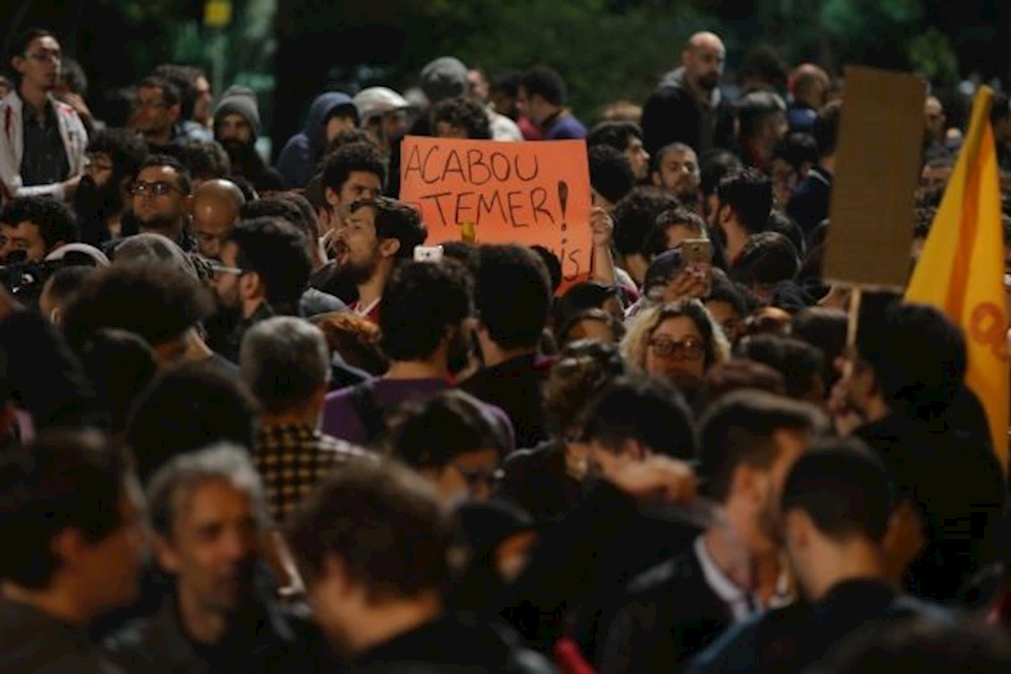 fora temer, temer, fora, renuncia, impeachment, Paulo Pinto - AGPT