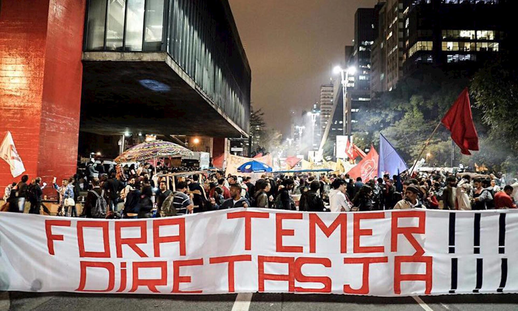 temer, diretas, manifestação, Tiago Macambira/Jornalistas Livres