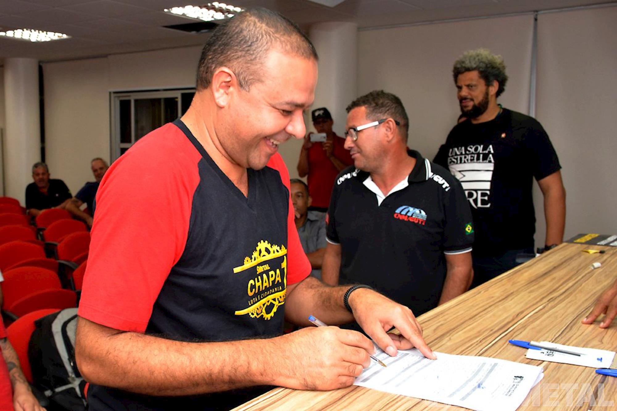 Posse da diretoria do SMetal,  em Brasília, posse,  smetal,  diretoria,  brasília,  direção,  leandro,  sindicato, Foguinho/Imprensa SMetal, Posse da diretoria do SMetal - triênio 2017 a 2020