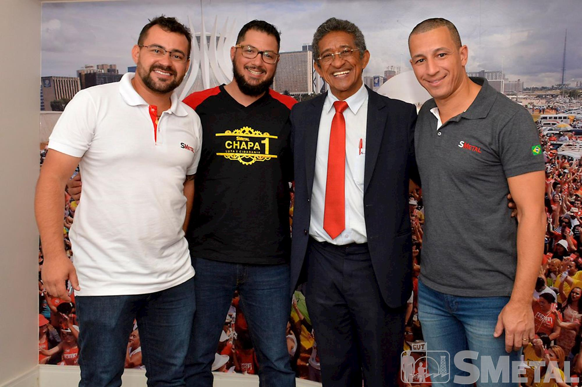 Posse da diretoria do SMetal - triênio 2017 a 2020