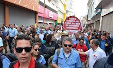 Sorocaba tem protestos contra as reformas; confira as fotos